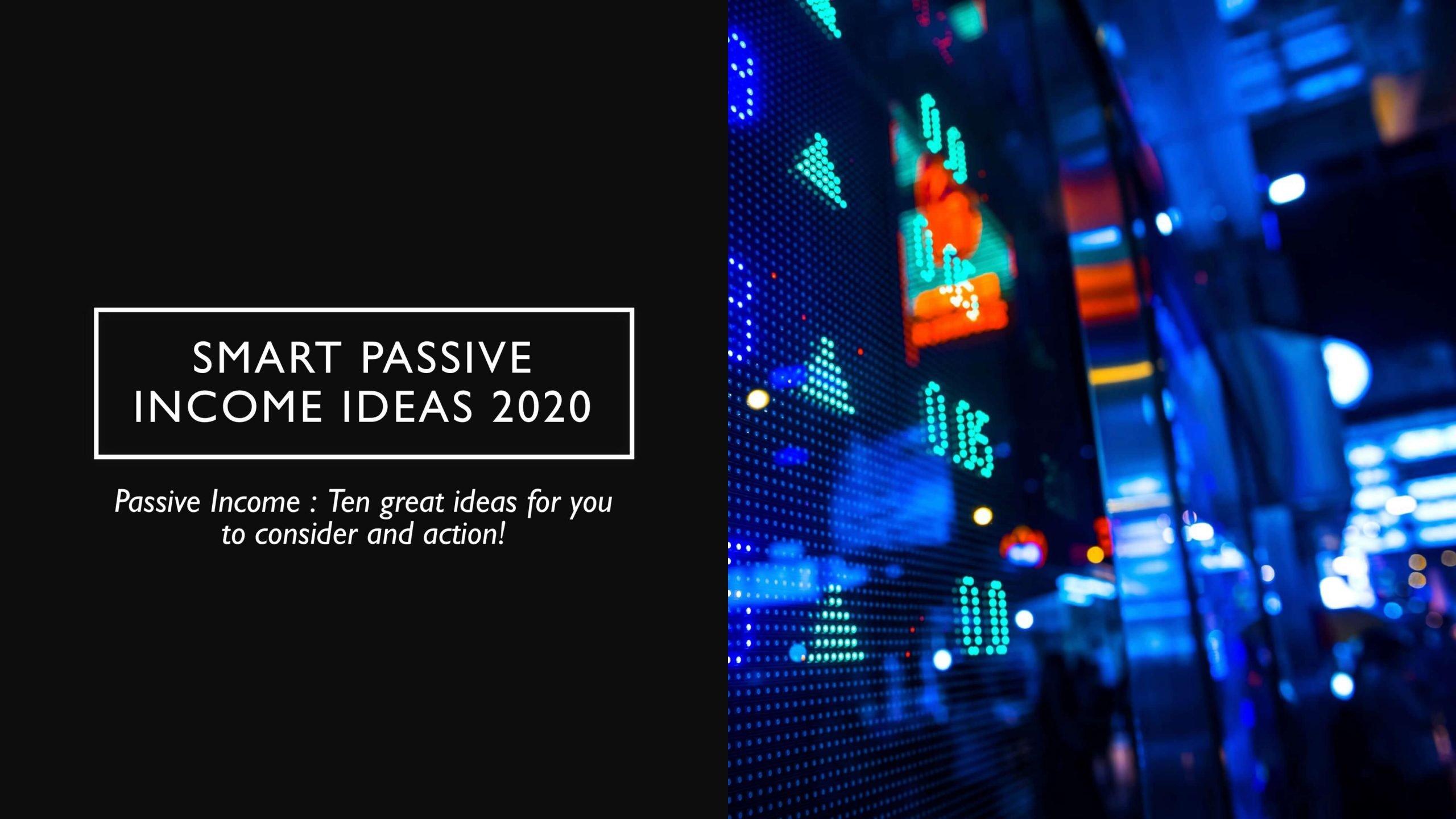 Passive Income Guide