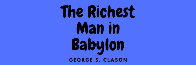 The Richest Man in Babylon front cover